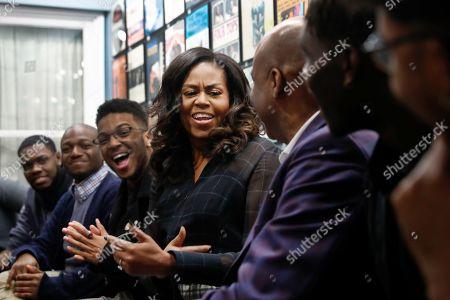 Michelle Obama visit to Michigan