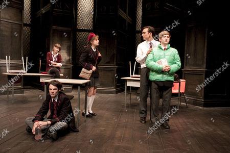 'Punk Rock' - Jessica Raine (Lily Cahill), Tom Sturridge (William Carlisle), Ghazaleh Golpira (Lucy Francis), Henry Lloyd-Hughes (Bennett Francis), Harry McEntire (Chadwick Meade)