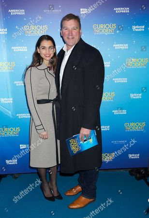 Editorial image of 'The Curious Incident of The Dog in the Nighttime' play performance, London, UK - 11 Dec 2018