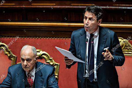 Editorial photo of Italian Prime Minister addresses Senate, Rome, Italy - 11 Dec 2018