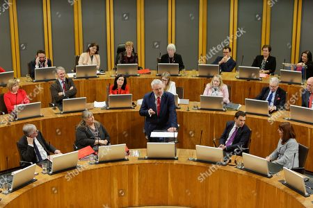 First Minister for Wales Carwyn Jones (C)