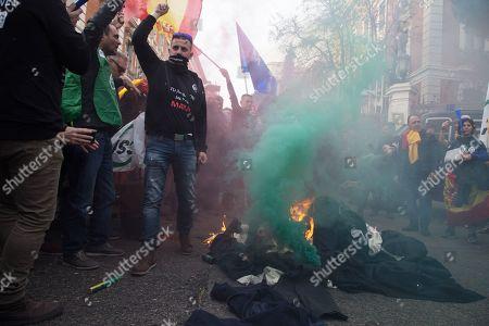Prison workers strike, Madrid