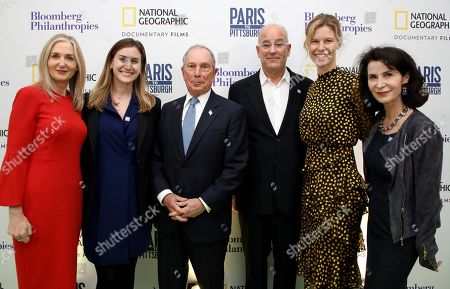 Editorial photo of 'Paris to Pittsburgh' film premiere, London, UK - 11 Dec 2018