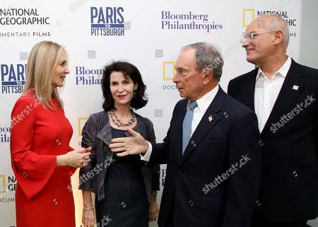 Editorial image of 'Paris to Pittsburgh' film premiere, London, UK - 11 Dec 2018