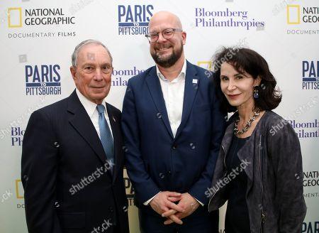 Michael Bloomberg, Theo Blackwell, Katherine Oliver
