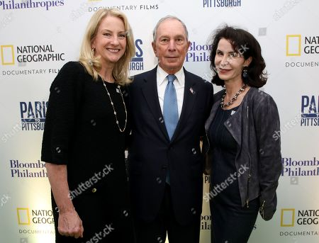 Mary Thompson, Michael Bloomberg, Katherine Oliver