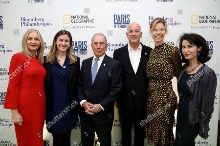 Deborah Armstrong, Lindsay Firestone, Michael Bloomberg, Jon Kamen, Antha Williams, Katherine Oliver