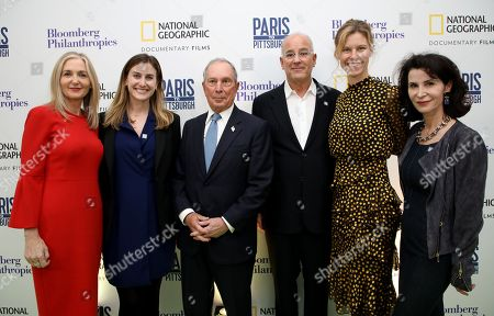 Stock Picture of Deborah Armstrong, Lindsay Firestone, Michael Bloomberg, Jon Kamen, Antha Williams, Katherine Oliver