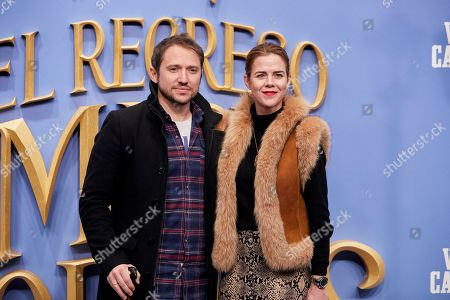 Stock Picture of Manuel Martos and Amelia Bono