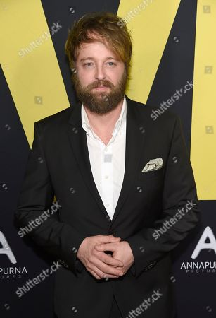 """Joshua Leonard arrives at the world premiere of """"Vice"""", at the Samuel Goldwyn Theater in Beverly Hills, Calif"""