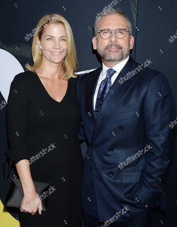 Stock Picture of Steve Carell, Nancy Carell