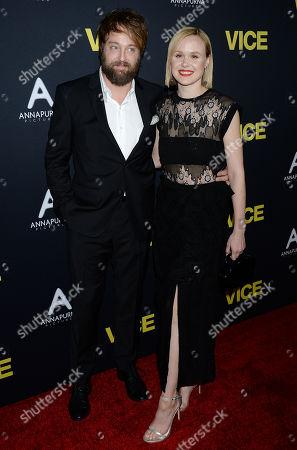 Alison Pill and Joshua Leonard