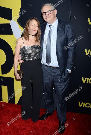 Shira Piven and Adam McKay