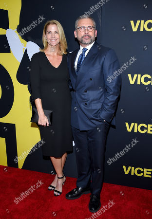 Stock Image of Nancy Carell and Steve Carell