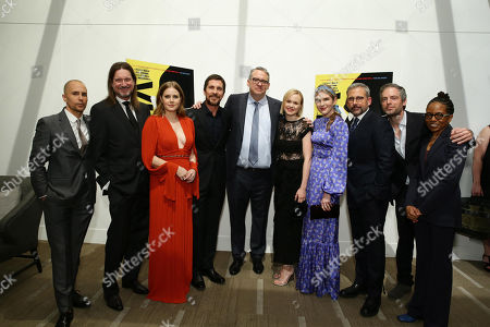 Stock Image of Sam Rockwell, Don McManus, Amy Adams, Christian Bale, Adam McKay, Writer/Producer/Director, Alison Pill, Lily Rabe, Steve Carell, Justin Kirk, LisaGay Hamilton