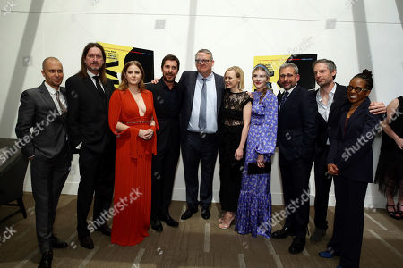 Stock Picture of Sam Rockwell, Don McManus, Amy Adams, Christian Bale, Adam McKay, Writer/Producer/Director, Alison Pill, Lily Rabe, Steve Carell, Justin Kirk, LisaGay Hamilton