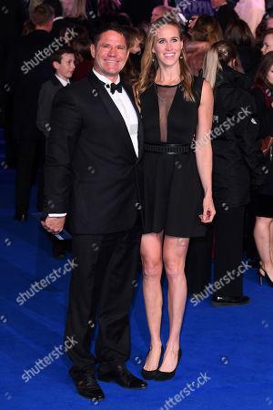 Steve Backshall and Helen Glover