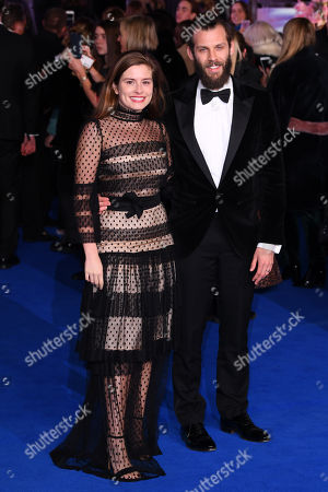 Stock Picture of Rachel Shenton and Chris Overton