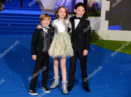 Joel Dawson, Pixie Davies and Nathanael Saleh