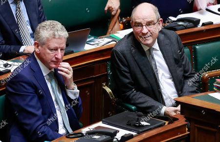 Editorial picture of Plenary Session in Belgian parliament, Brussels, Belgium - 12 Dec 2018
