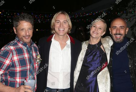 Stock Image of Robbie Laughlin, Nicholle Tom, Guests