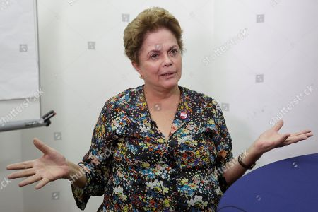 Former Brazilian president Dilma Rousseff speaks during an interview, in Sao Paulo, Brazil, 11 December 2018 (issued 12 December 2018). Rousseff said in an interview with Efe that inequality creates the 'favorable environment' for the growth of far right, which in the case of Brazil 'was latent', before the rise of the Brazilian president-elect Jair Bolsonaro.