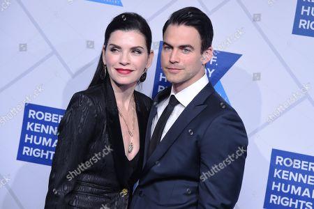 Julianna Margulies and Keith Lieberthal