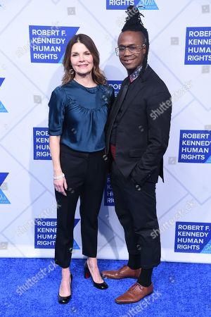 Kathryn Erbe and Jamel Robinson