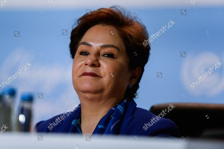 Patricia Espinosa, executive secretary of the United Nations Framework Convention on Climate Change seen during the COP24 UN Climate Change Conference 2018.