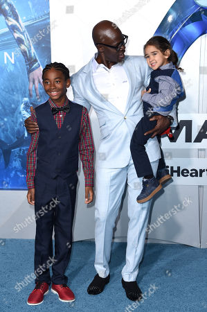 Kenzo Lee Hounsou and Djimon Hounsou