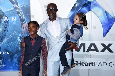 Stock Picture of Kenzo Lee Hounsou and Djimon Hounsou