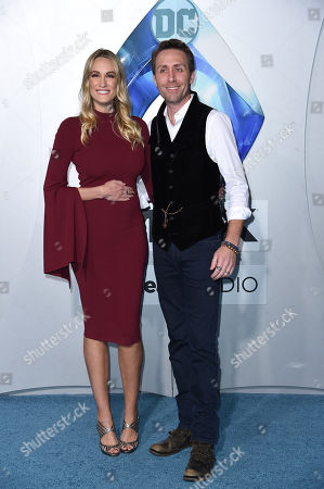 Stock Picture of Philippe Cousteau Jr. and Ashlan Gorse Cousteau