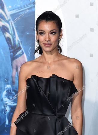 Editorial image of 'Aquaman' film premiere, Arrivals, Los Angeles, USA - 12 Dec 2018