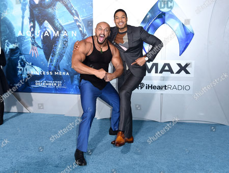 Ray Fisher and guest