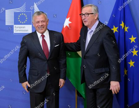 King Abdullah of Jordan visit to Brussels