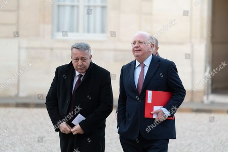 (CEO Veolia) Antoine Frerot and a guest