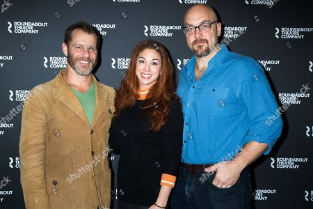 Stock Photo of Noah Brody, Lorin Latarro, Alexander Gemignani