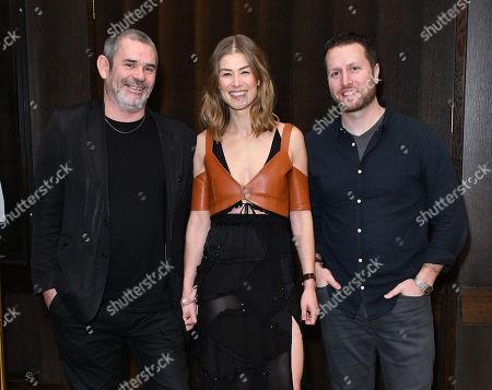 Paul Conroy, Rosamund Pike, Matthew Heineman