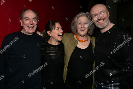 Stock Picture of Alun Armstrong (Edward), Nicola Walker (Anna), Maggie Steed (Maureen) and Mark Ravenhill (Author)