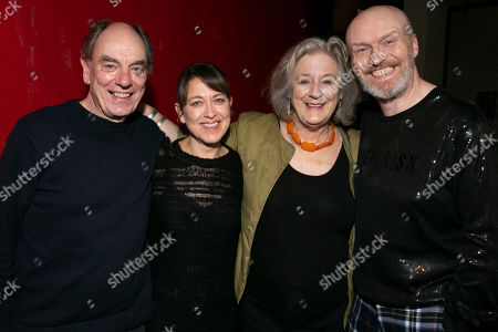Stock Image of Alun Armstrong (Edward), Nicola Walker (Anna), Maggie Steed (Maureen) and Mark Ravenhill (Author)