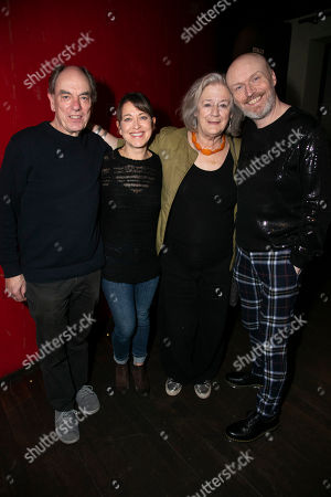 Alun Armstrong (Edward), Nicola Walker (Anna), Maggie Steed (Maureen) and Mark Ravenhill (Author)