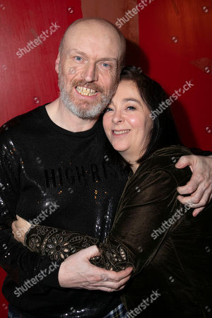 Stock Picture of Mark Ravenhill (Author) and Vicky Featherstone (Director)