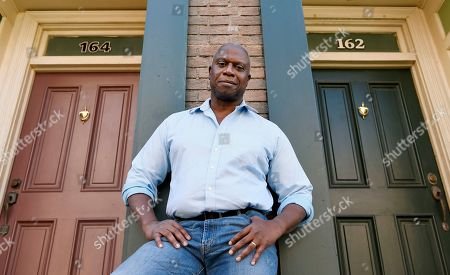 "Andre Braugher, a cast member in the television series ""Brooklyn Nine-Nine,"" poses for a portrait on the New York street at CBS Radford Studios in Los Angeles"