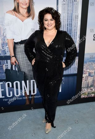 "Dierdre Friel attends the world premiere of ""Second Act"" at Regal Union Square Stadium 14, in New York"