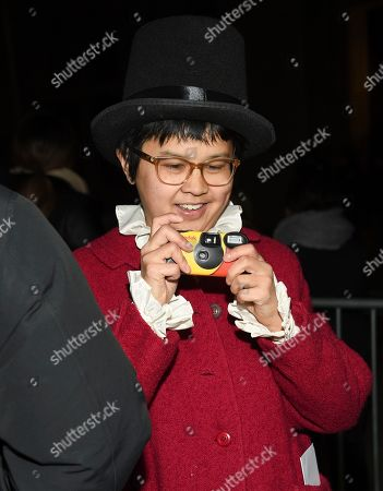 """Charlyne Yi attends the world premiere of """"Second Act"""" at Regal Union Square Stadium 14, in New York"""