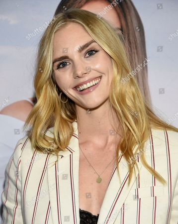 """Dani Seitz attends the world premiere of """"Second Act"""" at Regal Union Square Stadium 14, in New York"""