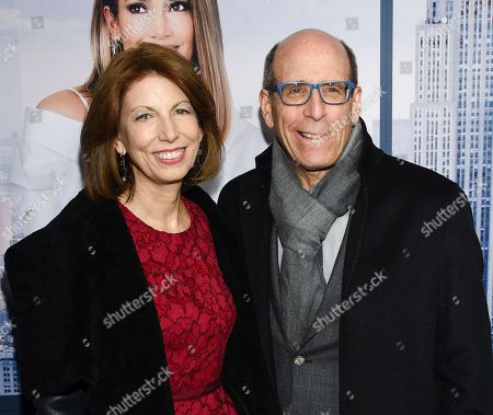 """Susan Blank, Matt Blank. Showtime chairman Matt Blank and wife Susan Blank attend the world premiere of """"Second Act"""" at Regal Union Square Stadium 14, in New York"""