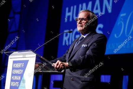 Editorial photo of Obama RFK Human Rights Gala, New York, USA - 12 Dec 2018
