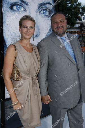 Karyn Fields and Joel Silver