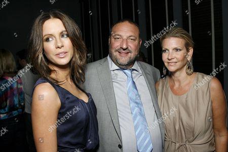 Kate Beckinsale, Joel Silver and wife Karyn Fields